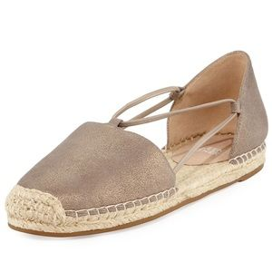 Eileen Fisher Lee Espadrille Flats Size 7.5 New